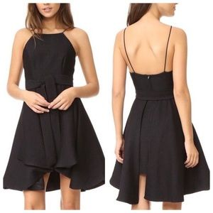 CMEO Collective Black Swing Skirt Dress